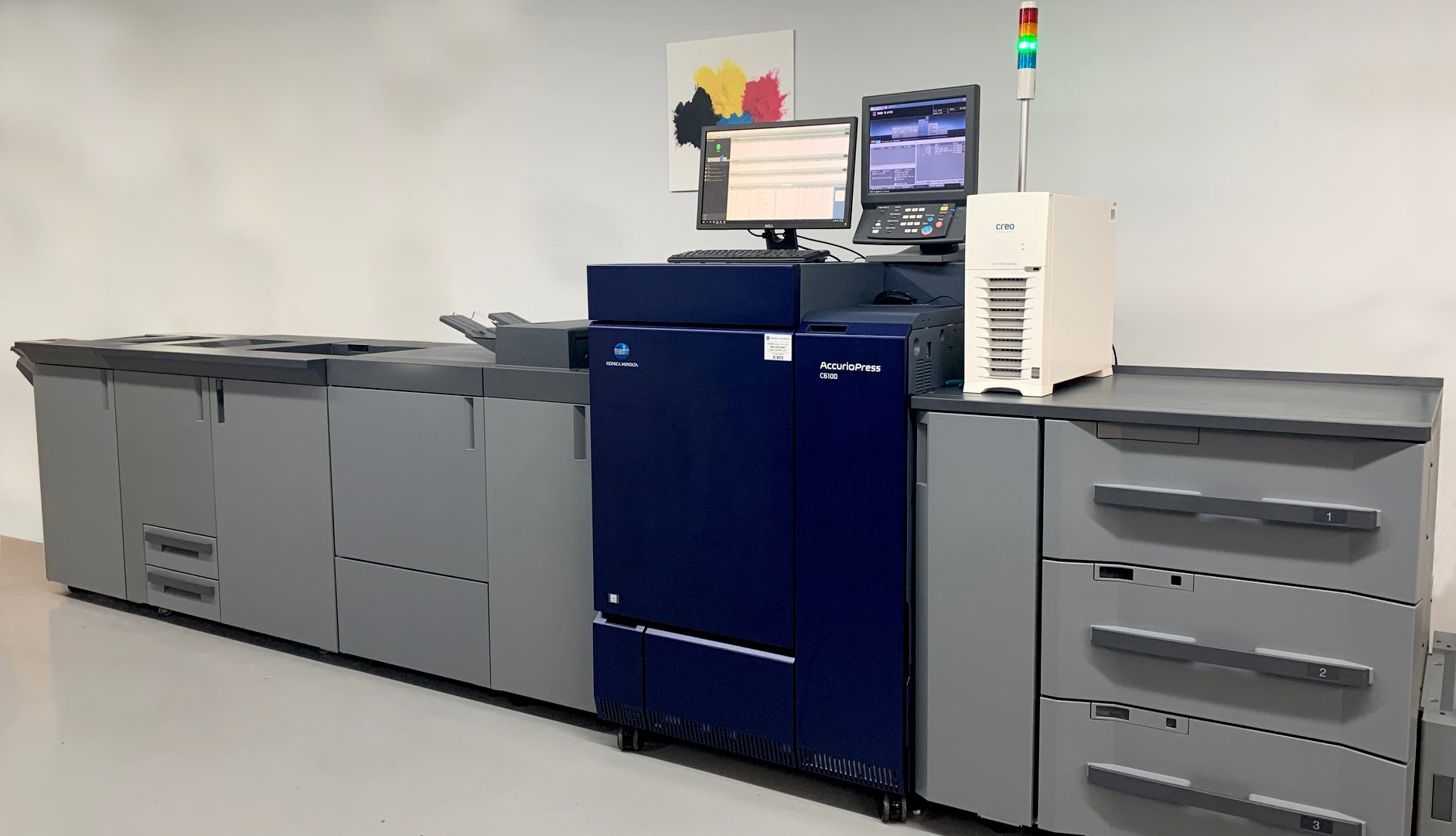 Panoramic Press offers toner digital printing